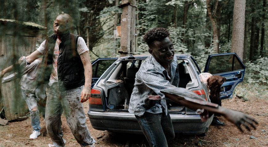 Utvalda bilder The Walking Dead den populara zombie serien - The Walking Dead - den populära zombie-serien
